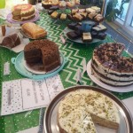 Some of the cakes donated