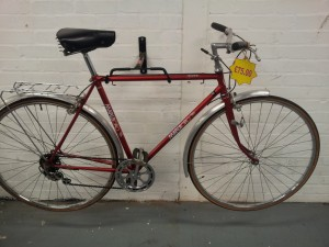 Example of one of the refurbished bikes we have for sale