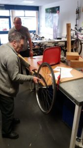 Wheels going on the Soapbox