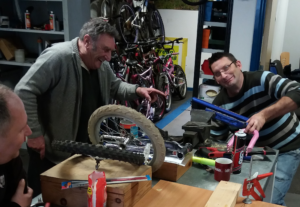 It's all fun and games at the Bike Shed!